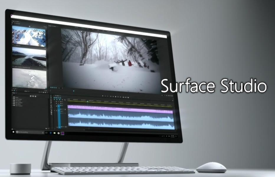MicrosoftがSurface Studioを発表!