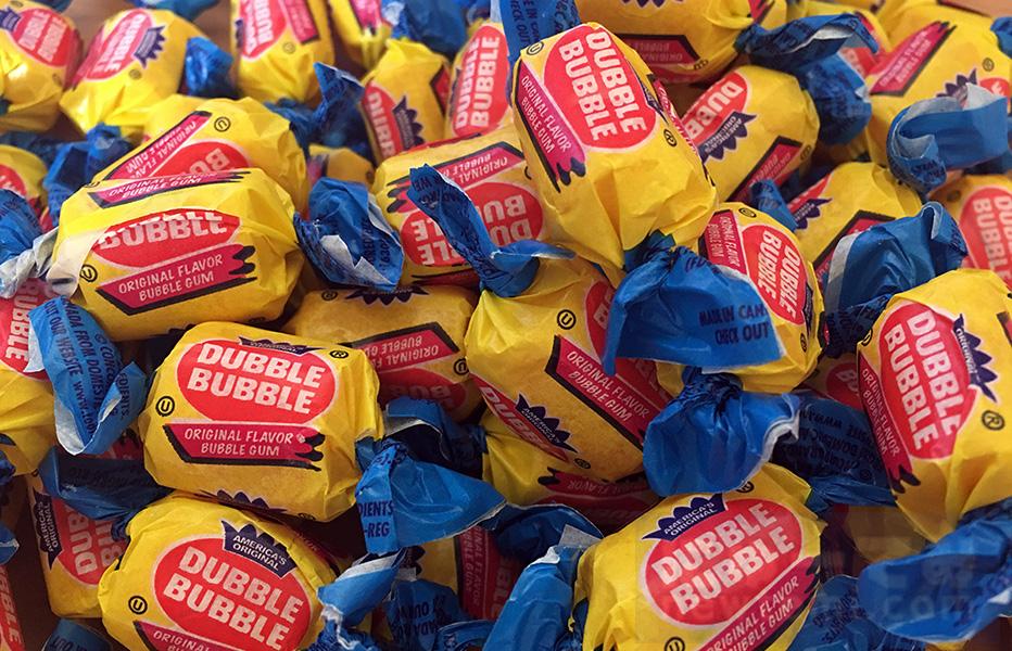 ダブルバブルガムの1ポンドバッグをリピート買い